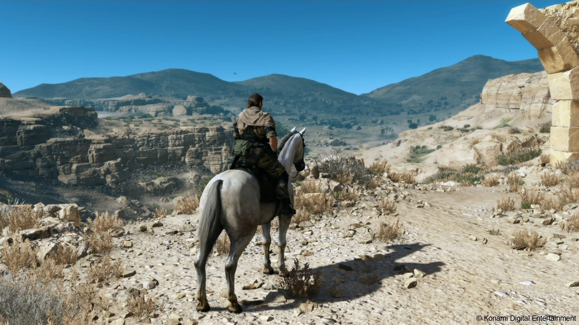 Konami's Fox Engine in full flow at the start of Metal Gear Solid V: The Phantom Pain