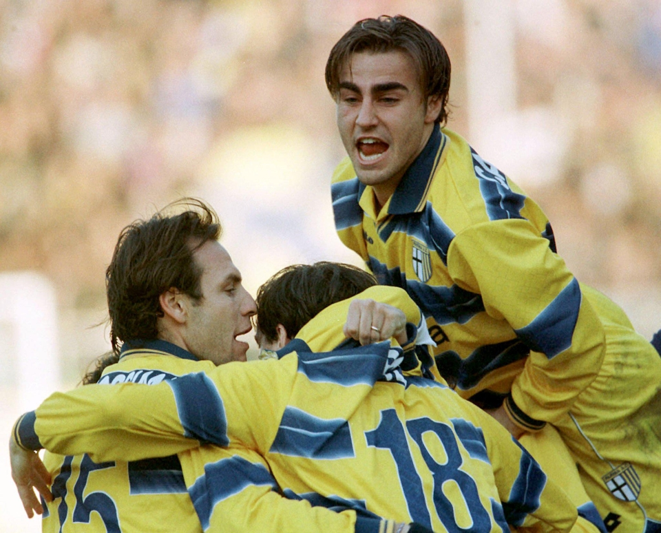 Cannavaro with hair is slightly less imposing
