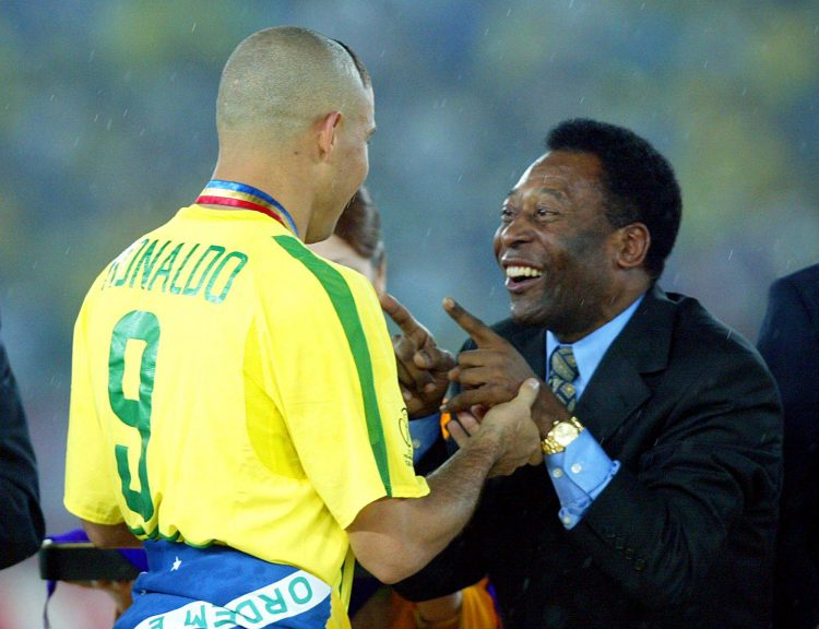 The greatest Brazilian player of all time… and Pele