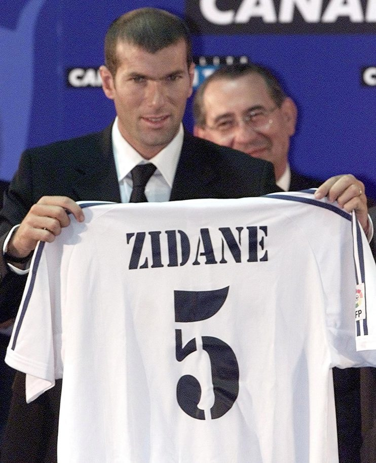 Zinedine Zidane's 2001 move ushered in a new age of mega transfers