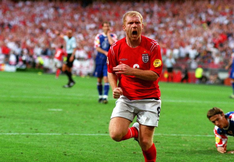 Just the 11 league titles for Scholesy
