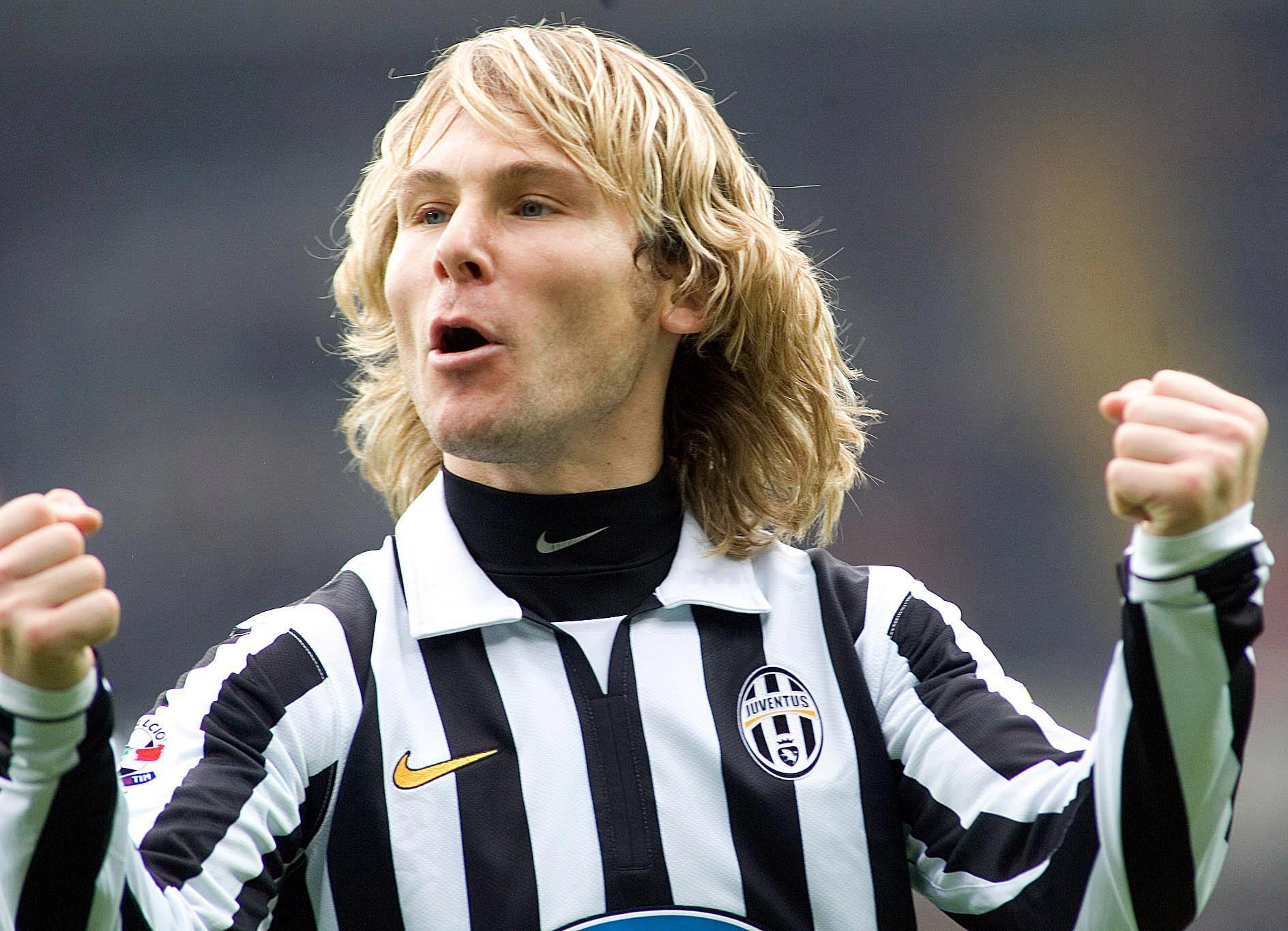 Pavel Nedved was among Juventus heroes who stayed despite relegation