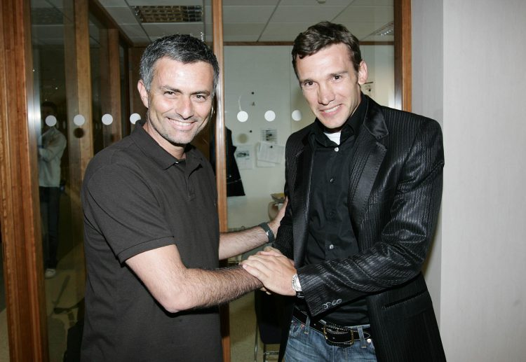 Shevchenko, always the prankster, signed for Chelsea dressed as a priest