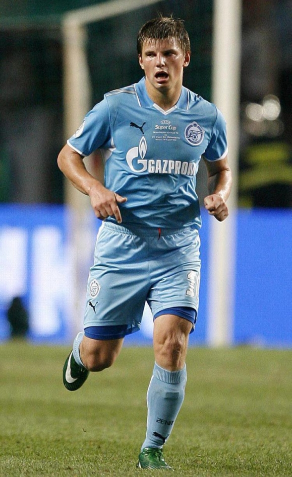 Arshavin was the best player in Russia during his first spell with Zenit