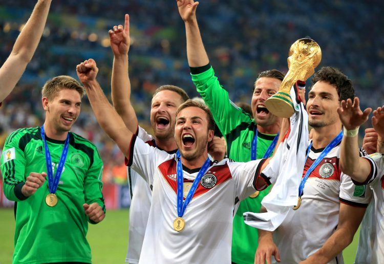 Gotze's career highlight came when he scored the winning goal in the 2014 World Cup final