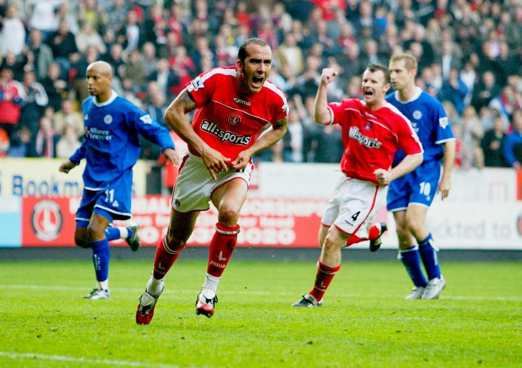 Di Canio aided Charlton's season with five goals