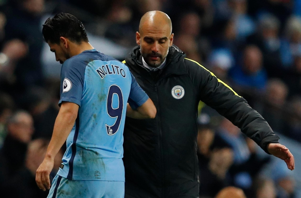 Nolito is desperate to leave Manchester City after just one season with club