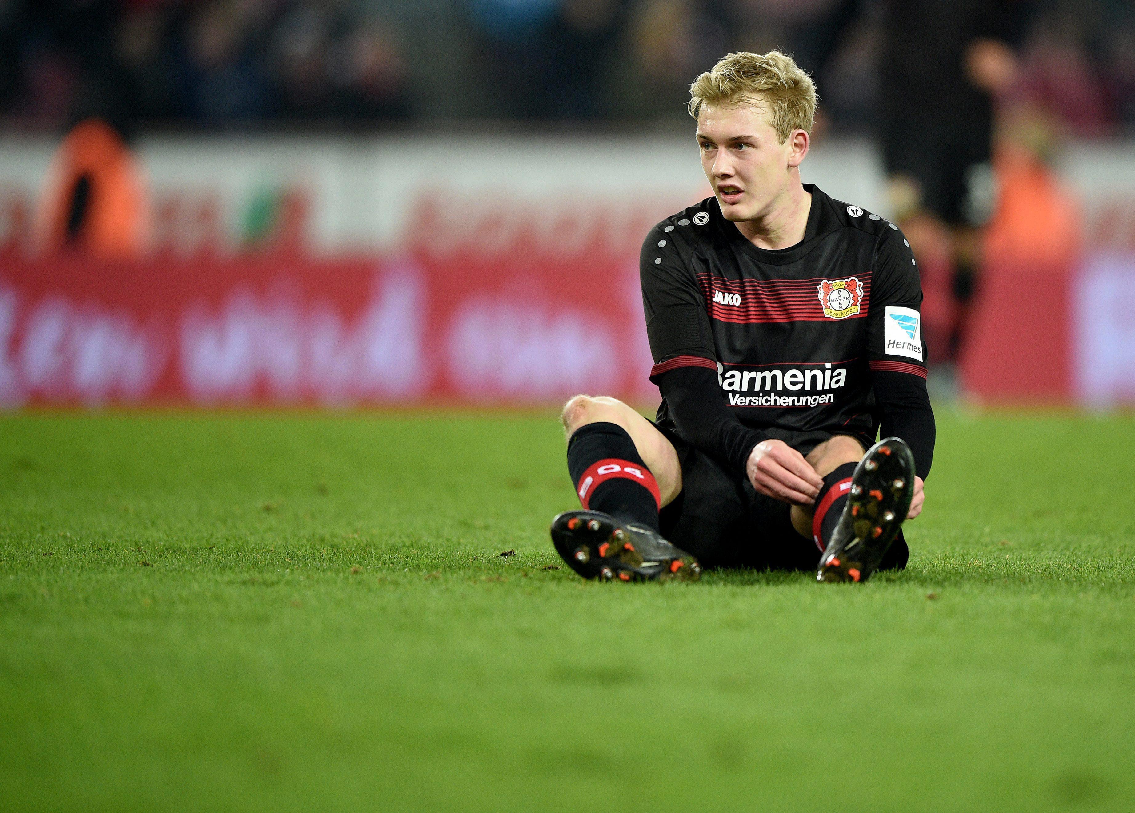 Brandt wants to be playing regular football next season for Bayer Leverkusen