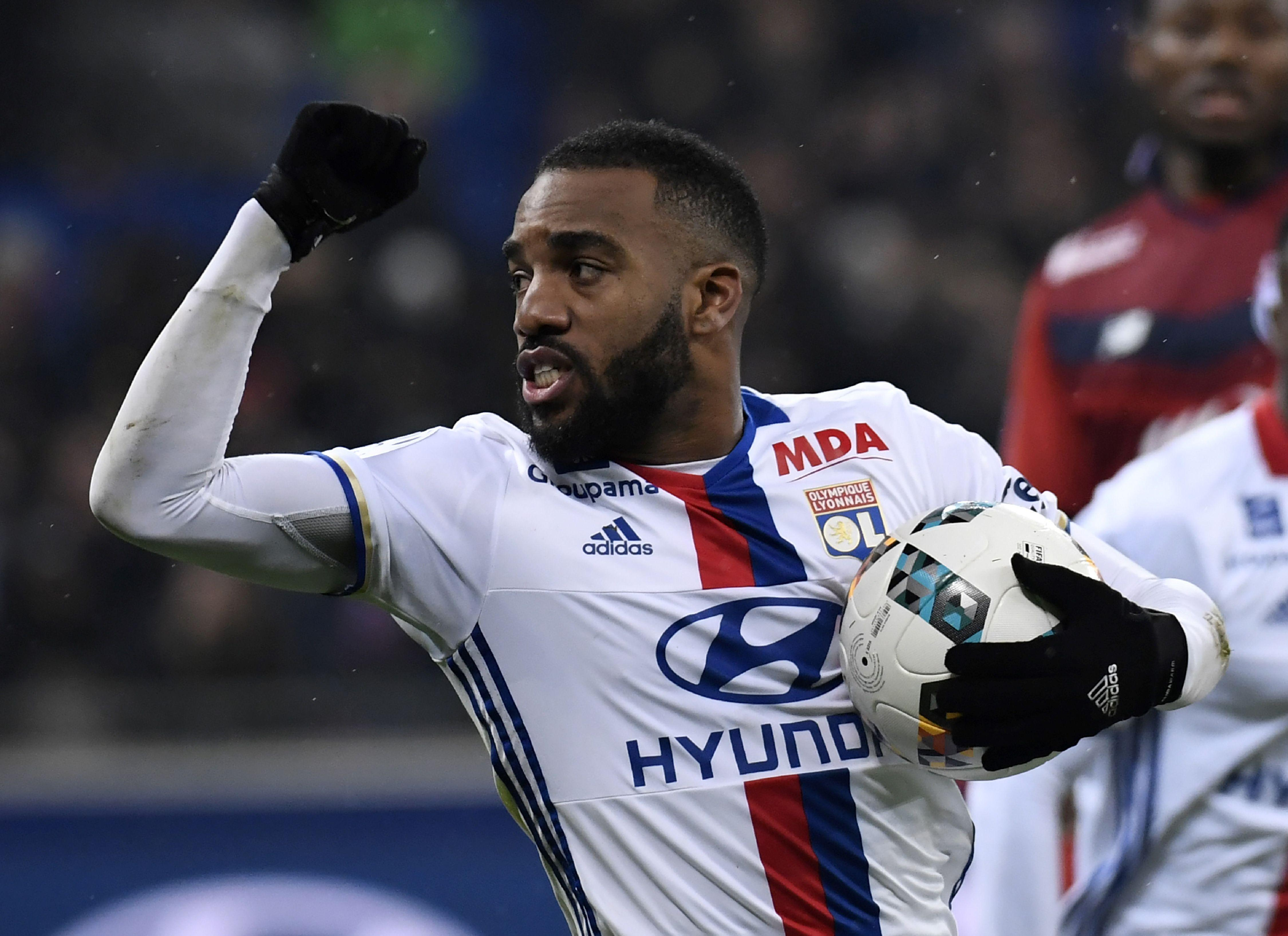 Alexandre Lacazette was heavily linked with a move to Alexandre Lacazette