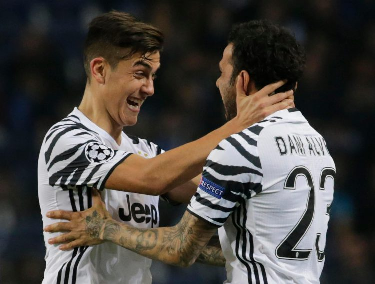 Alves had a few odd things to say about his teammate Paulo Dybala