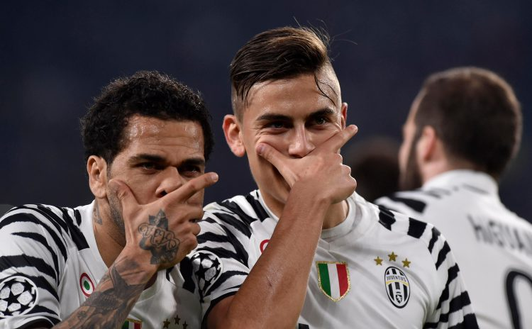Dybala and Alves reached the Champions League final with Juve last season