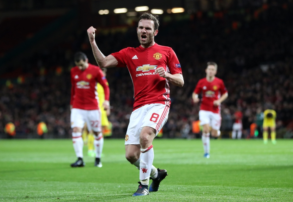Mata posted a series of stunning pictures to his Instagram account