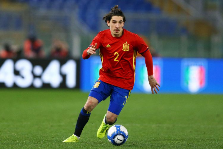 Bellerin is currently representing Spain's Under-21 side