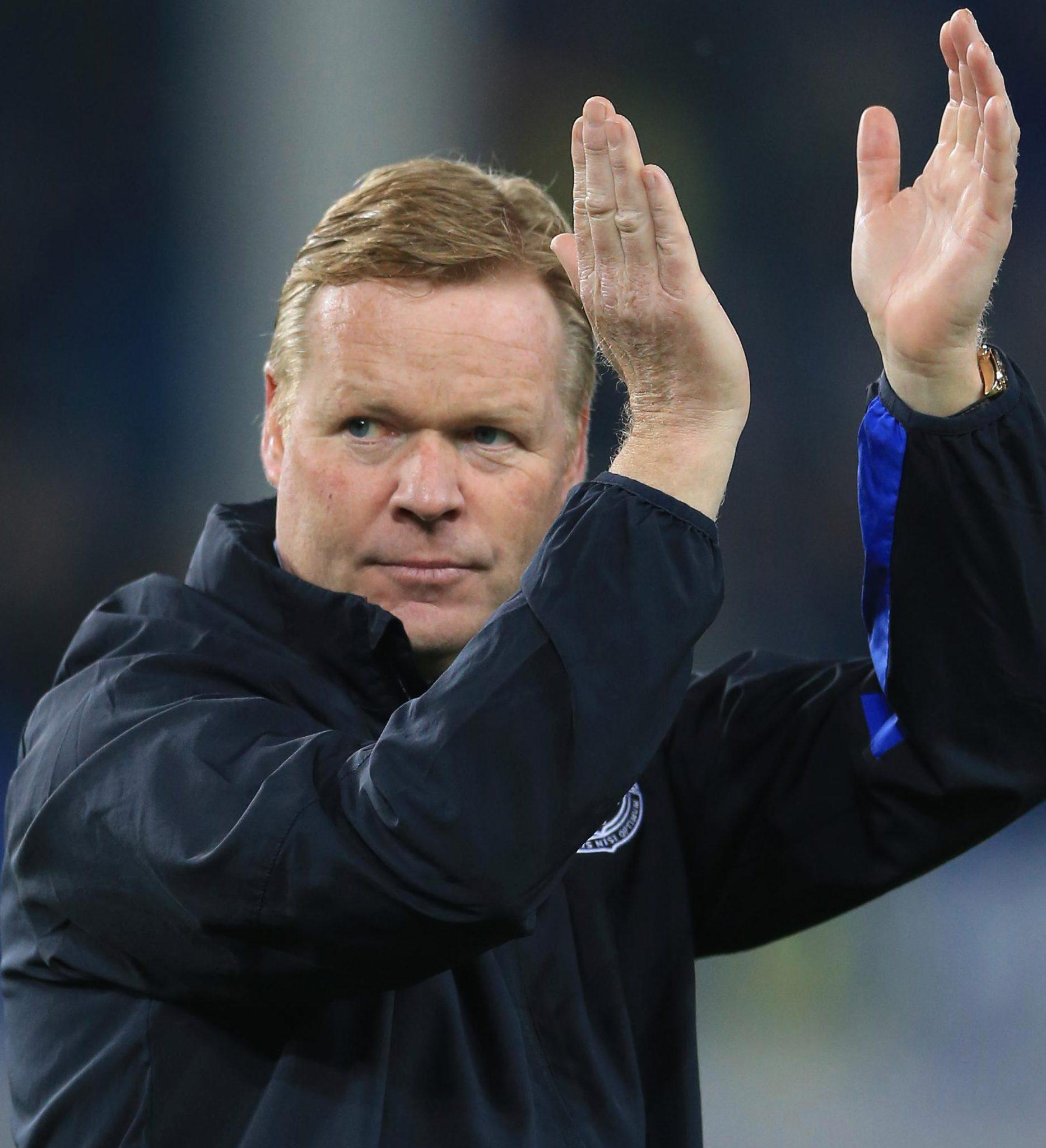 Ronald Koeman will have to break the Toffeees transfer record to land Sigurdsson