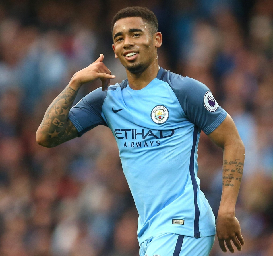 Gabriel Jesus has given Man City a boost with an update on social media