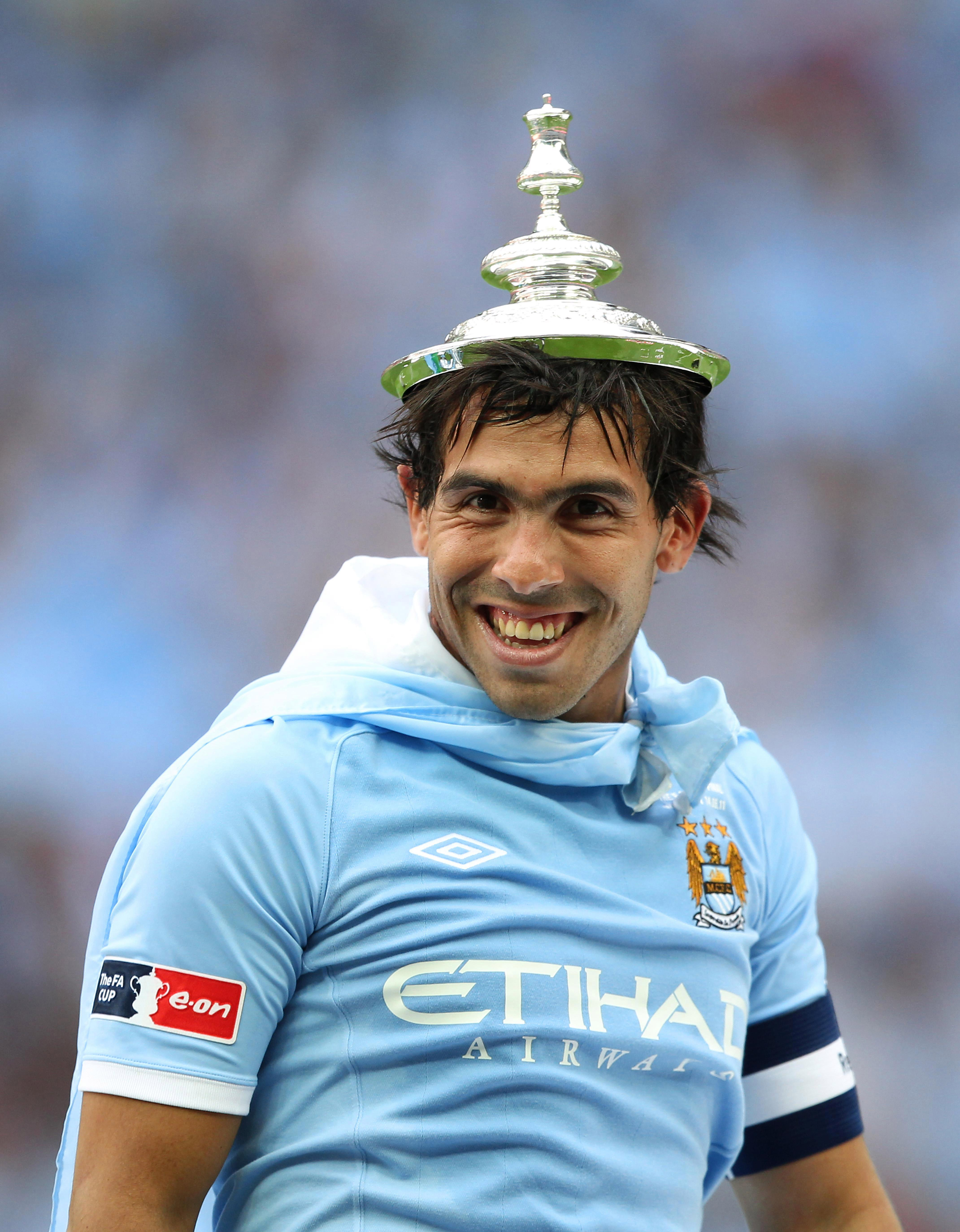Tevez has played for many big clubs including Manchester City