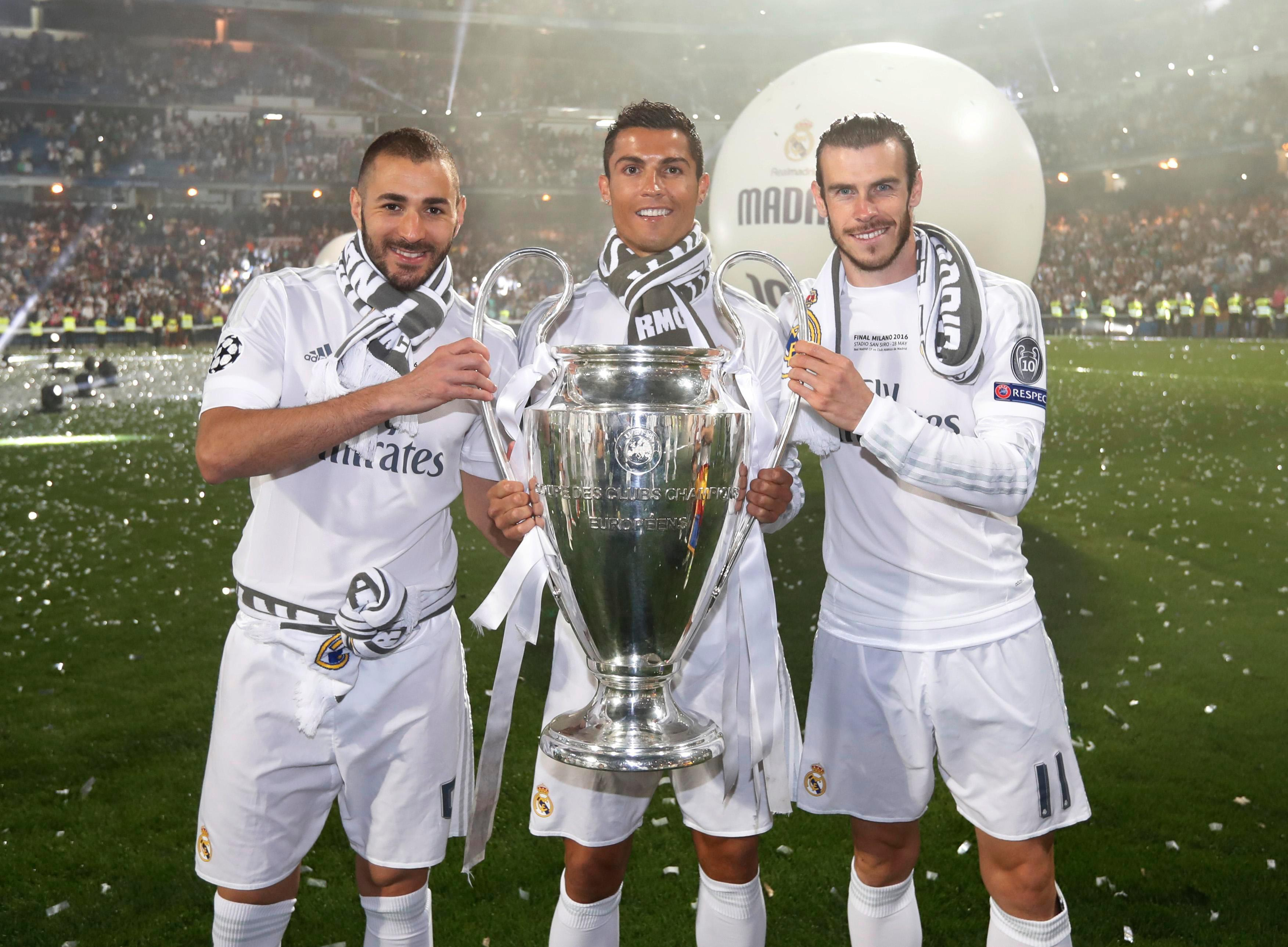Reports suggest Zinedine Zidane is willing to offload either Karim Benzema, Cristiano Ronaldo or Gareth Bale to land Kylian Mbappe