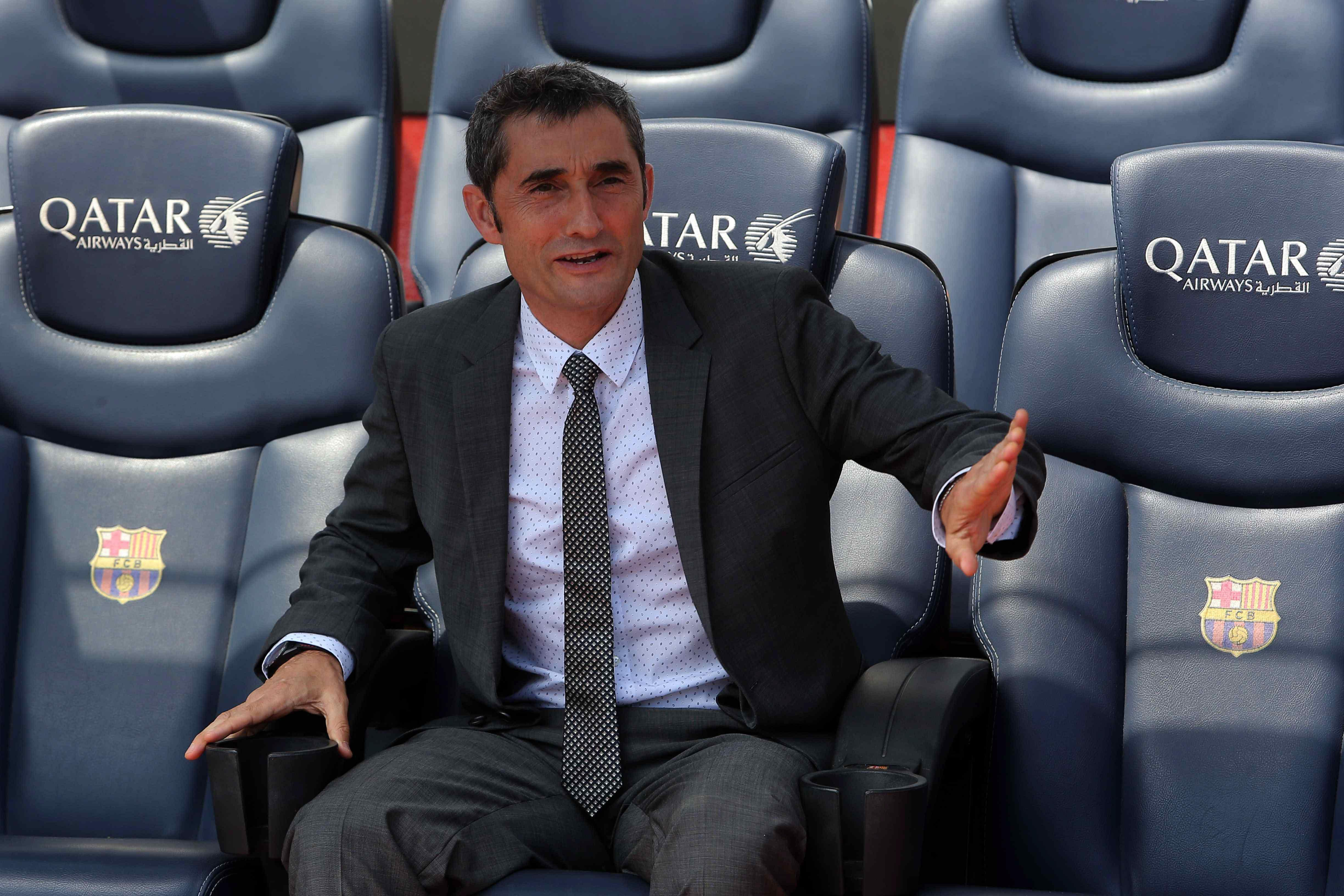 Ernesto Valverde wants new faces to start Barcelona's new era off