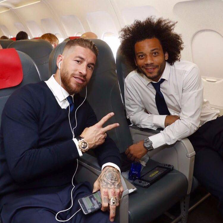 Sergio Ramos and Marcelo will be hoping for starts against Juventus in Cardiff