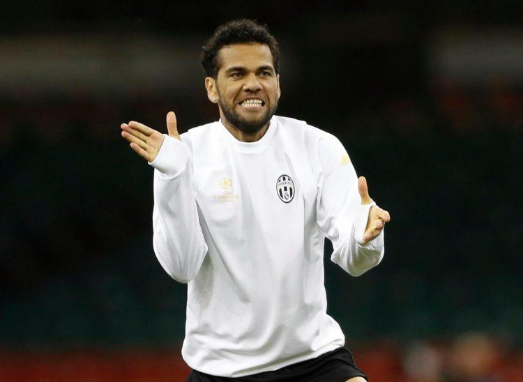 Alves had an incredible season for Juventus