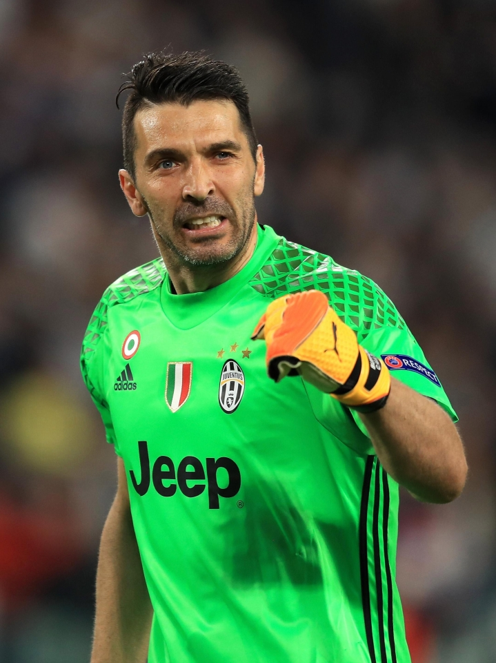 That's more like the Buffon we remember!