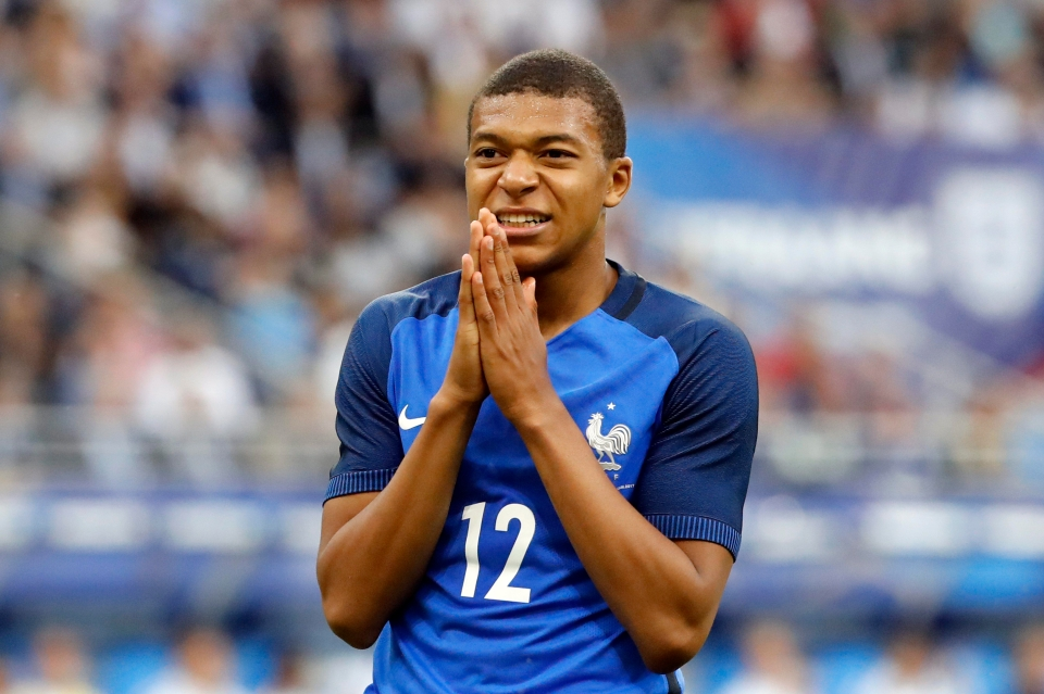 Mbappe did everything but score