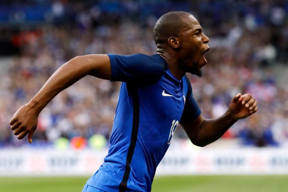 Sidibe scored his first France goal