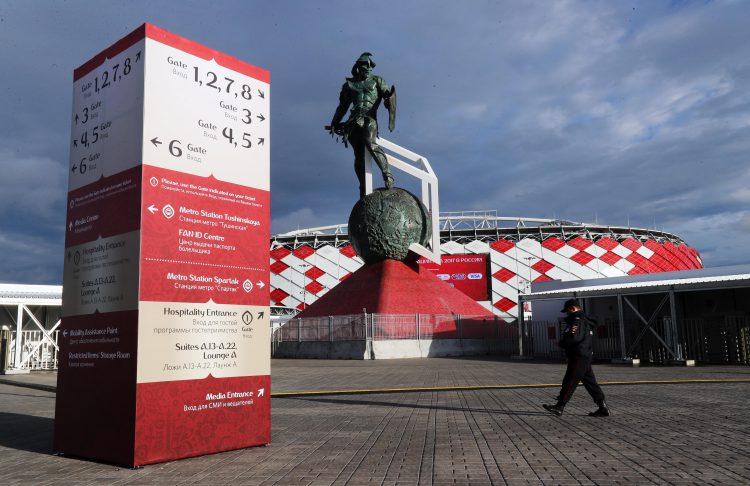 Otkritie Arena, home to Spartak