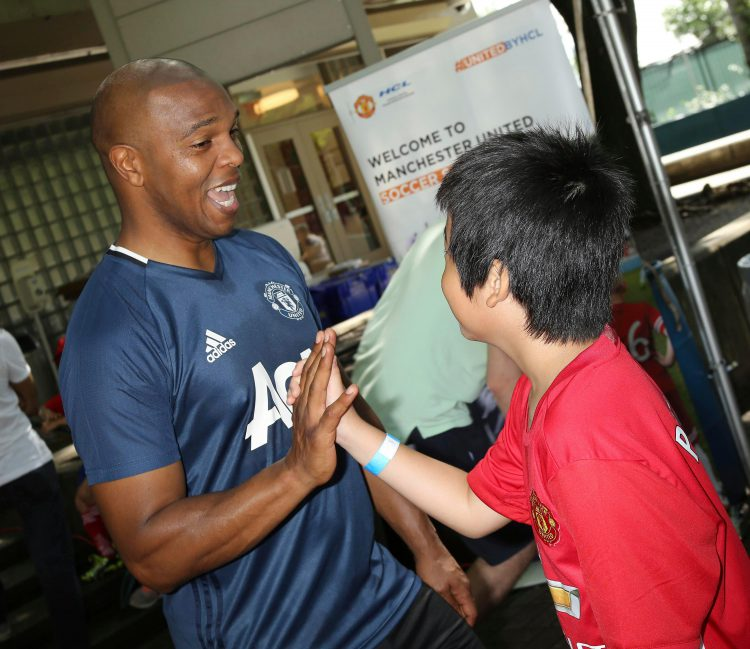 Quinton Fortune – one of the nice guys