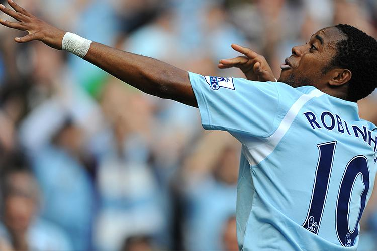 Robinho was the first marquee signing made by City's new owners
