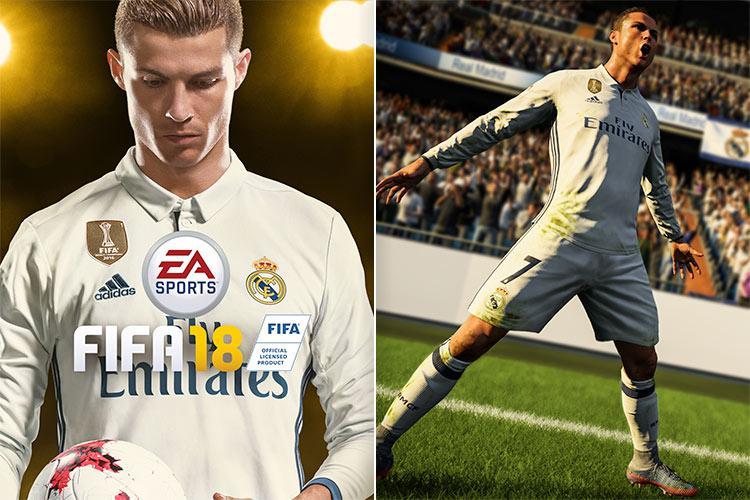 Cristiano Ronaldo is the new face of FIFA 18