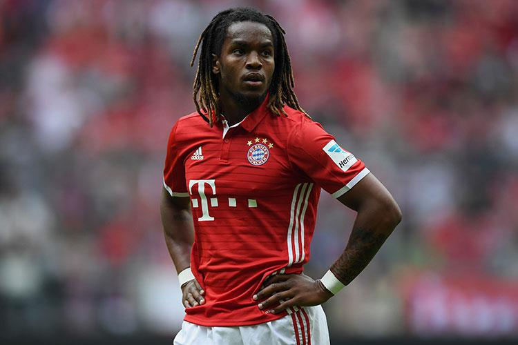 Renato Sanches has found chances few and far between at Bayern
