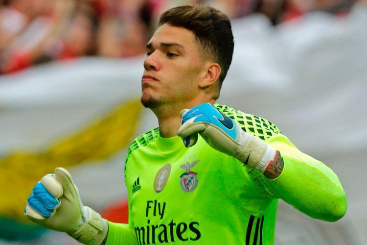Ederson will surely replace Bravo between the City sticks