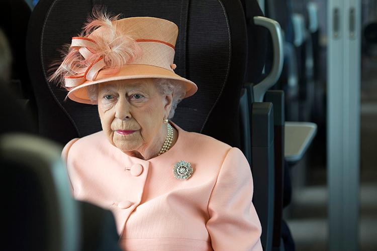 The moment you try and tell Queen Elizabeth that Cristiano Ronaldo is better than Lionel Messi