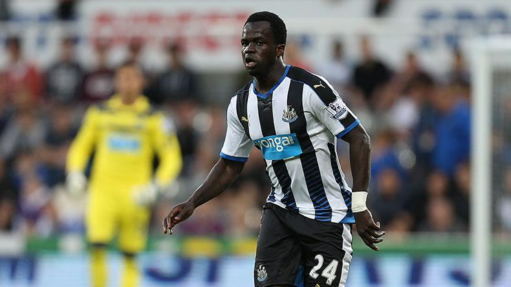 Tiote was at Newcastle for seven years