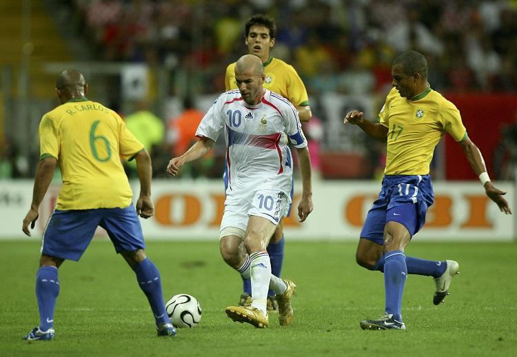 The closer you got to Zidane the more stupid he made you look