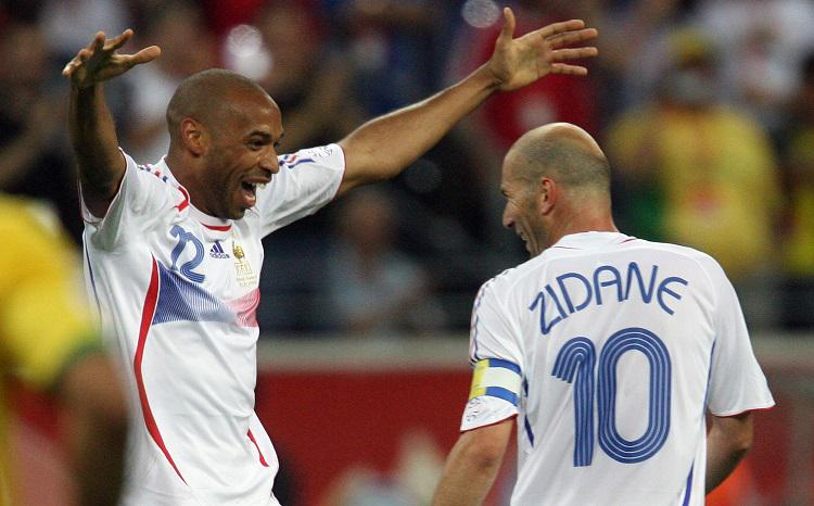 Henry scored the winner but he knew who had really won the game for France