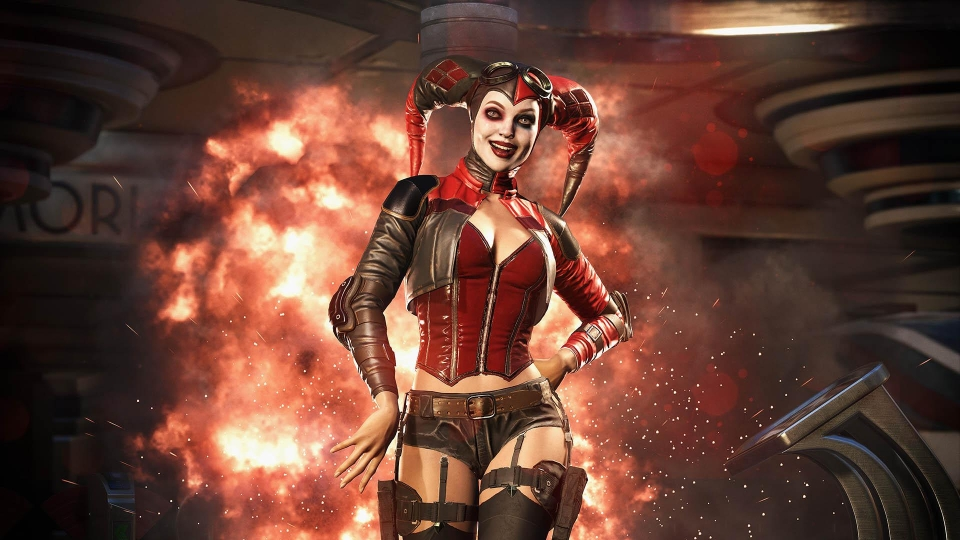 Harley Quinn is just one of characters in the awesome Injustice 2