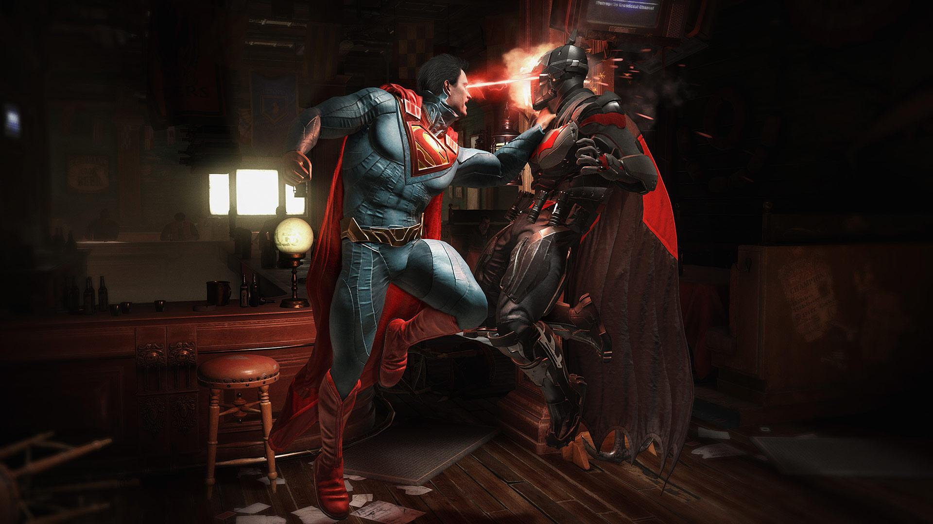 Ever wanted to fight as Superman and Batman? Well, now you can