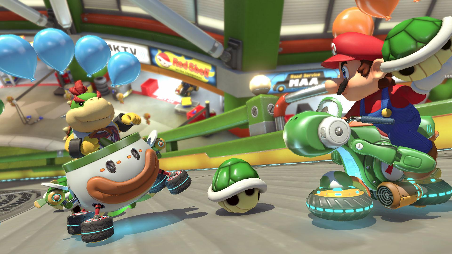 Mario Kart is one if the standout games on the brilliant Nintendo Switch