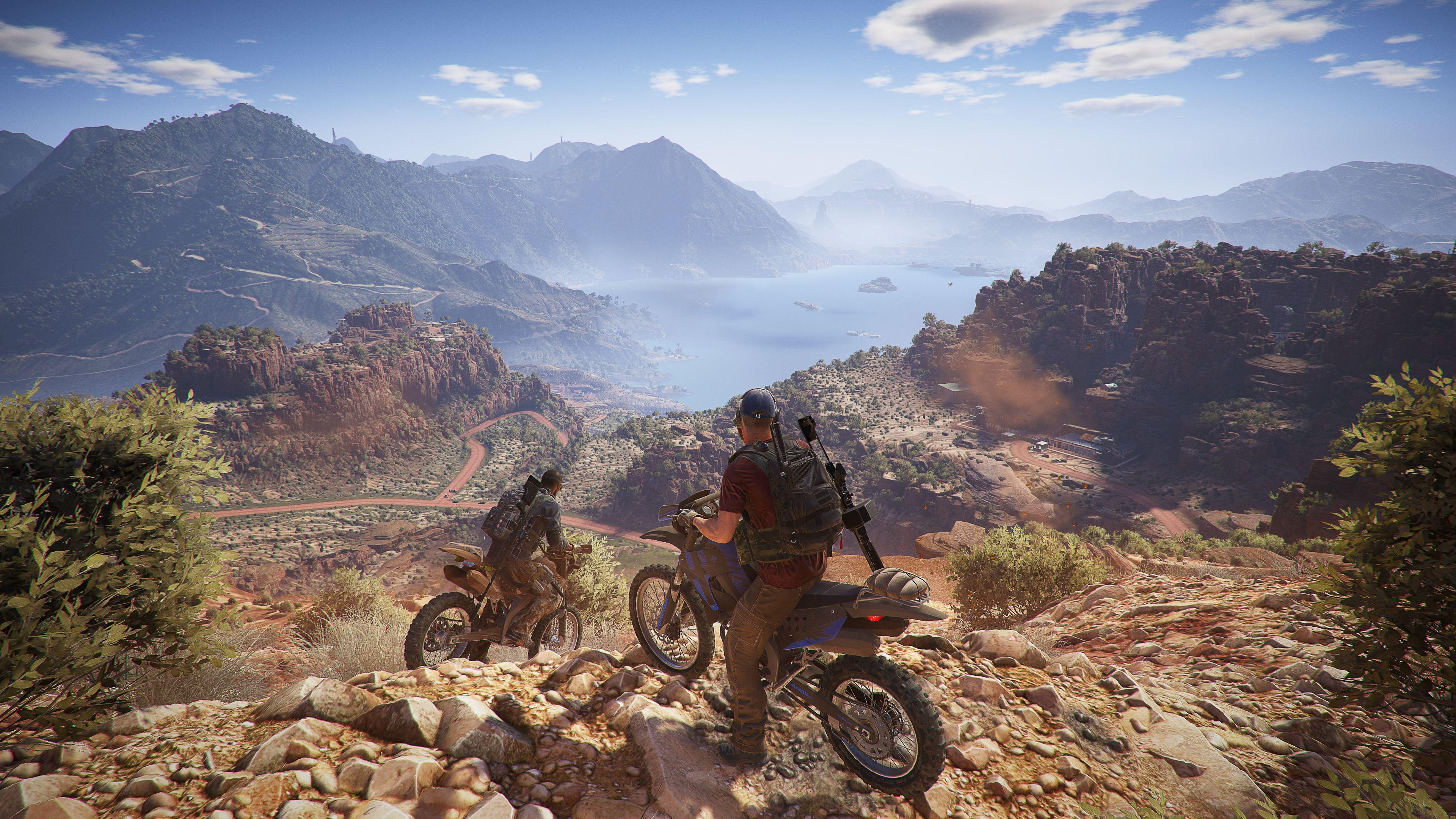 Wildlands truly looks stunning when played in 4K on a high-powered PC