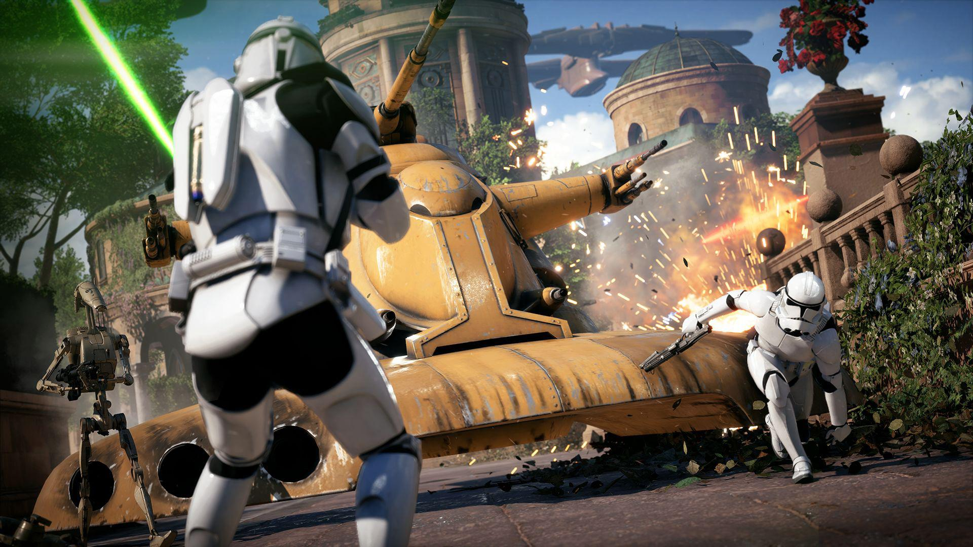 Star Wars: Battlefront II is another title that will make the most out of the X's improved power