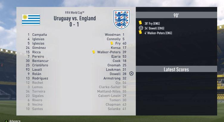 England get their first win against the South American side