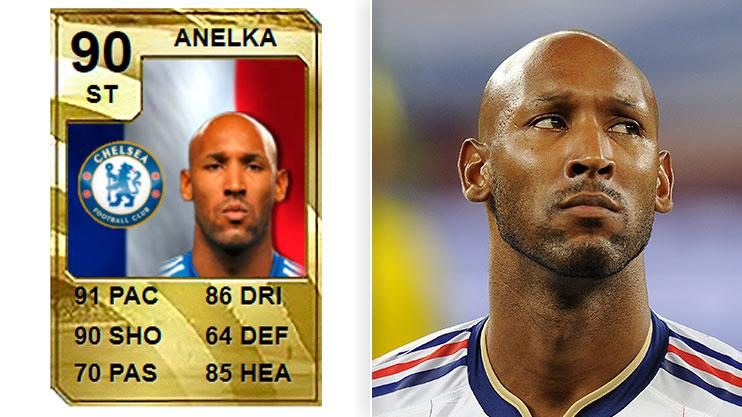 Classic Anelka was a force to behold back in the day