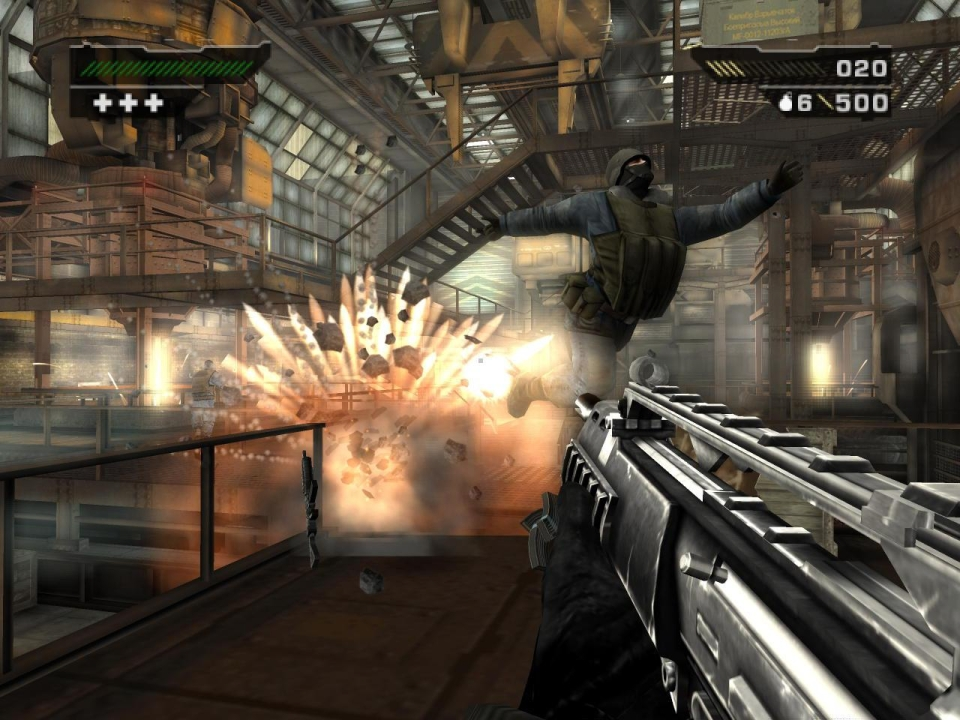 Black was one of the best shooters on the PS2 – and featured surprisingly good visuals