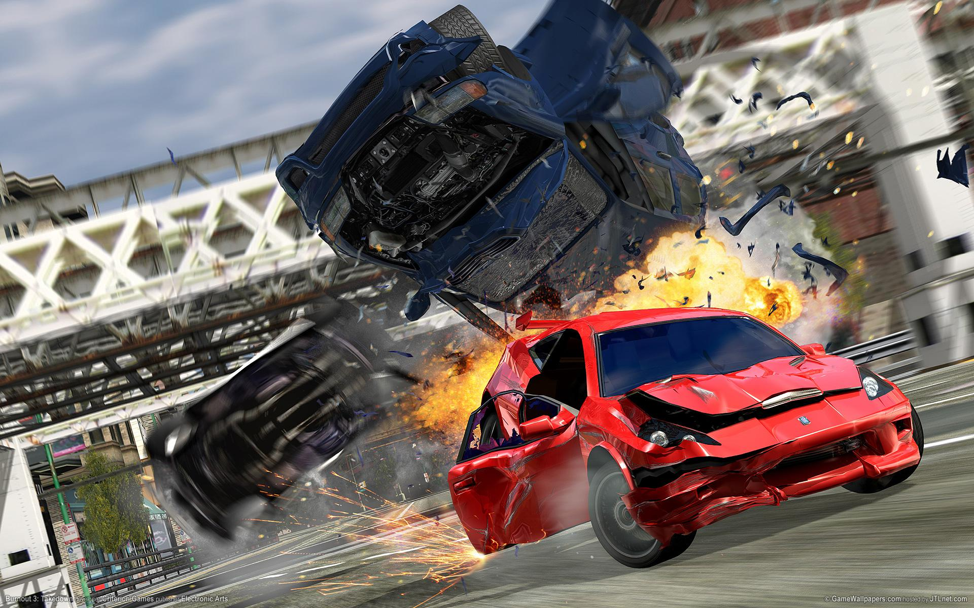 Burnout features some of the greatest crashes we've ever seen and is still highly playable today