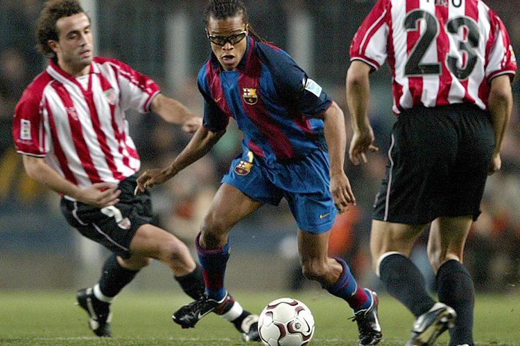 Has a footballer ever looked cooler on a football pitch?