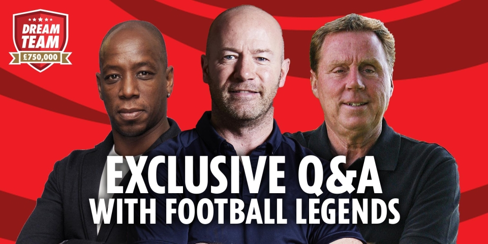 Wright, Shearer, Redknapp – what more could you want?