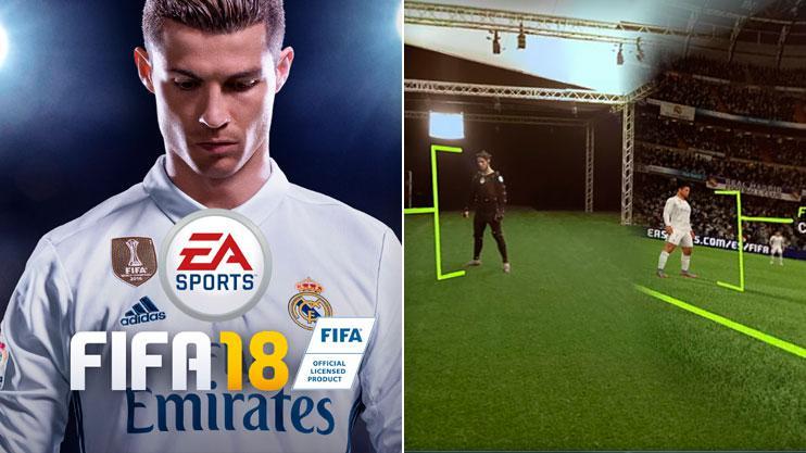 0b1c20e9084 FIFA 18  EA Sports release new gameplay footage featuring Cristiano Ronaldo