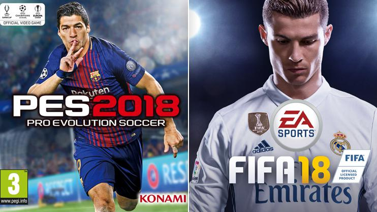 FIFA 18 v PES 2018: Which game is better?